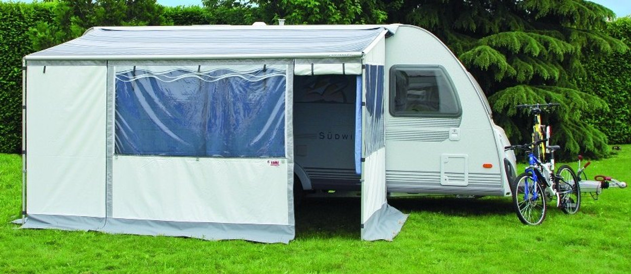 The Caravanstore Zip Awning and Privacy Room!