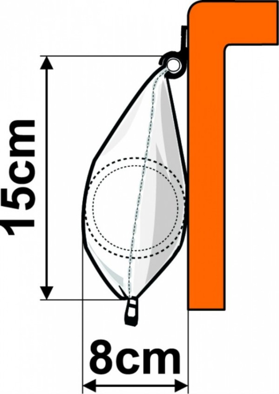 Profile in Awning rail
