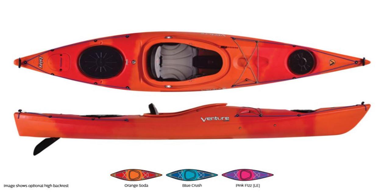 Venture Islay 12 kayak - colour options
