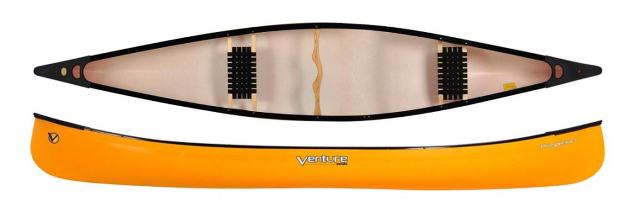 Venture Prospector Canoe 155 Trilite in Mellow Yellow