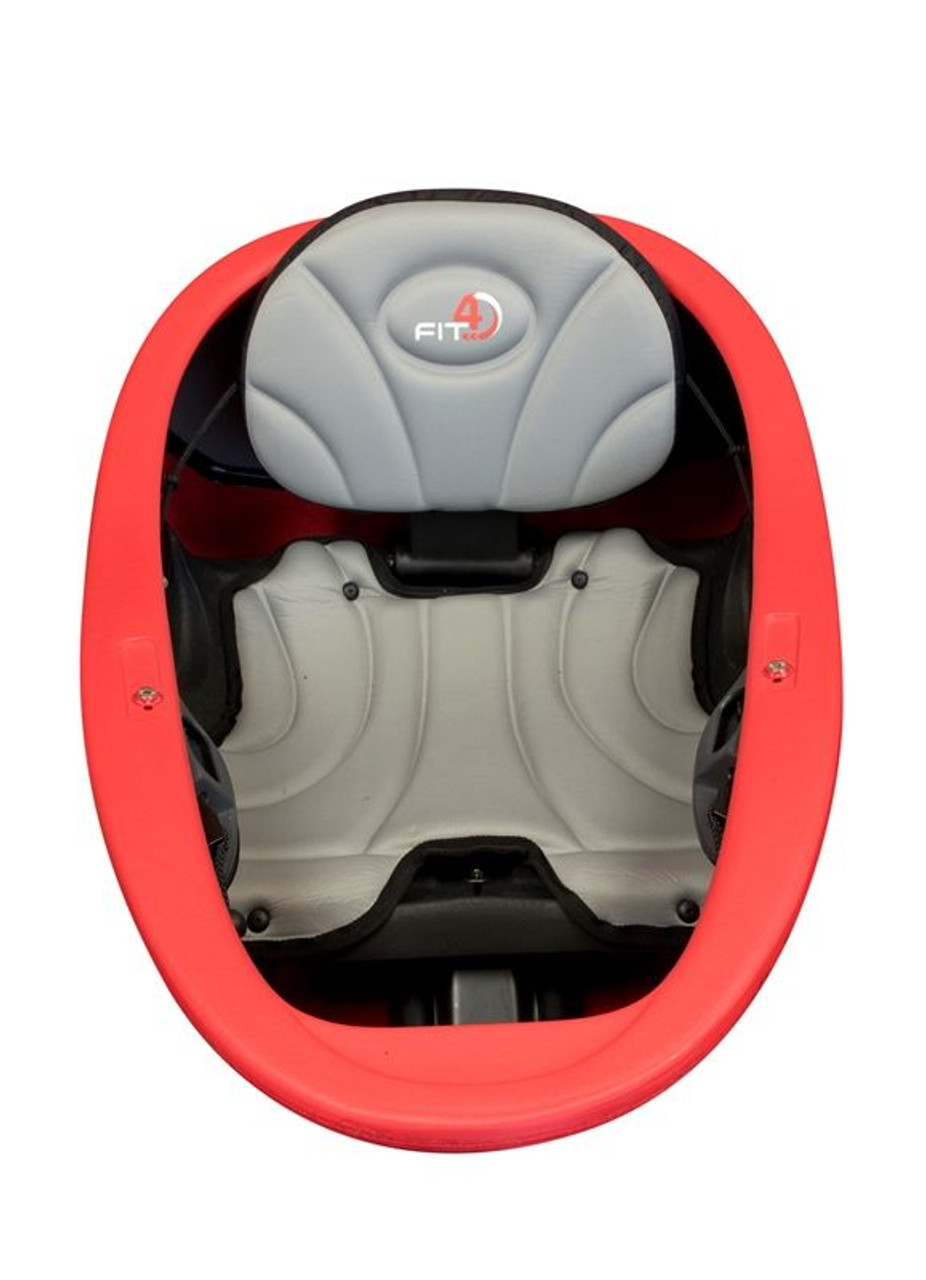 Flex Fit 4 outfitting - padded seat and high backrest
