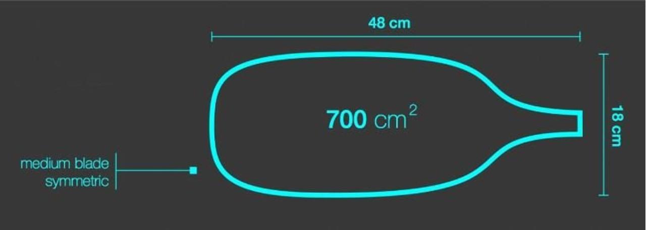 Ainsworth kayak paddle dimensions