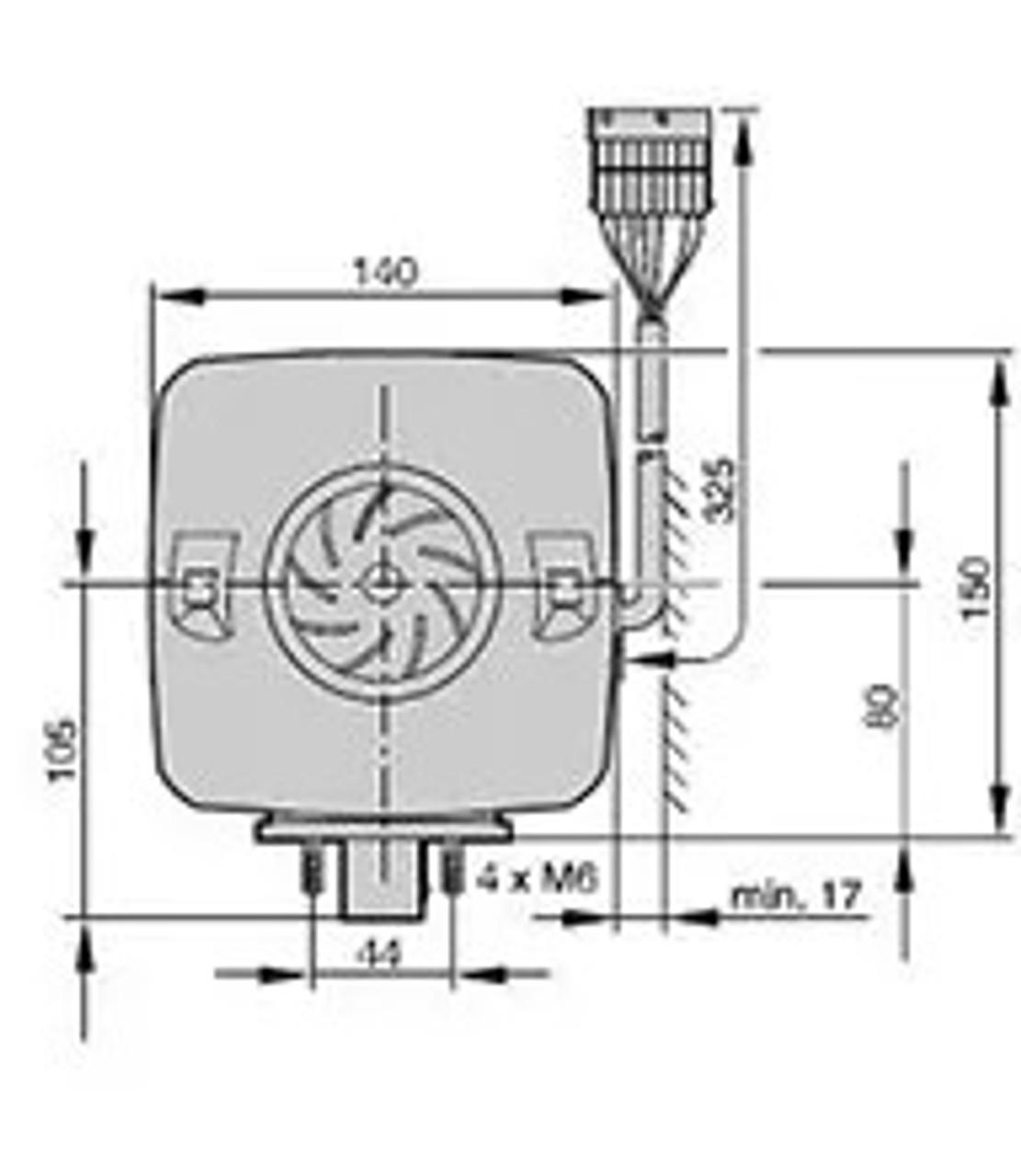 Eberspacher Airtonic D4 Motorhome Horsebox Diesel Heater DIMS Width