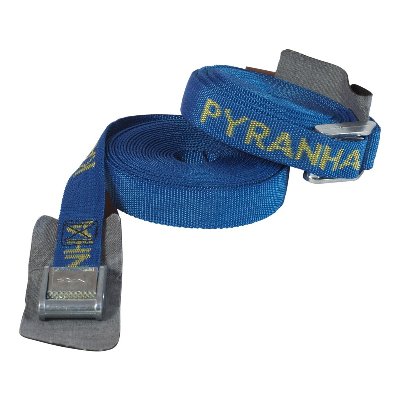 Pyranha Kayak, Canoe, SUP tie down roof straps, 5M. Sold in pairs.