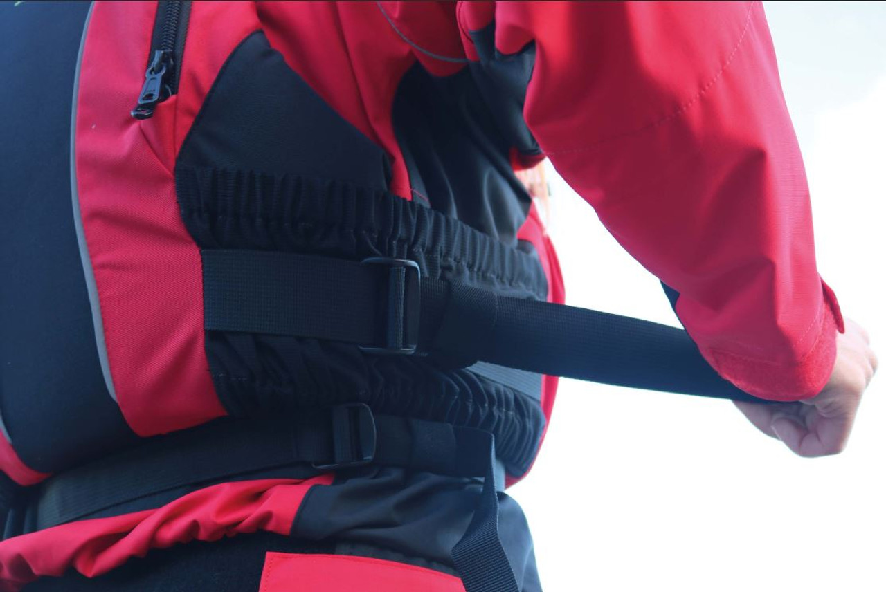Yak Apollo touring cag with Xipe buoyancy aid