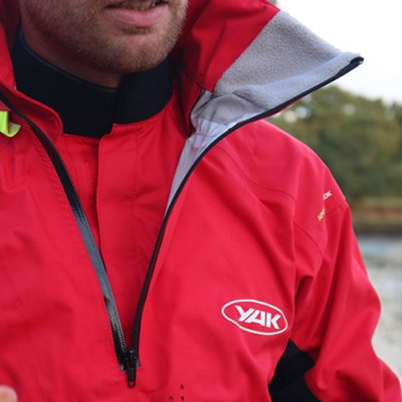 The Apollo touring cag is waterproof and breathable. Features a high storm collar with adjustable inner PU neck seal.