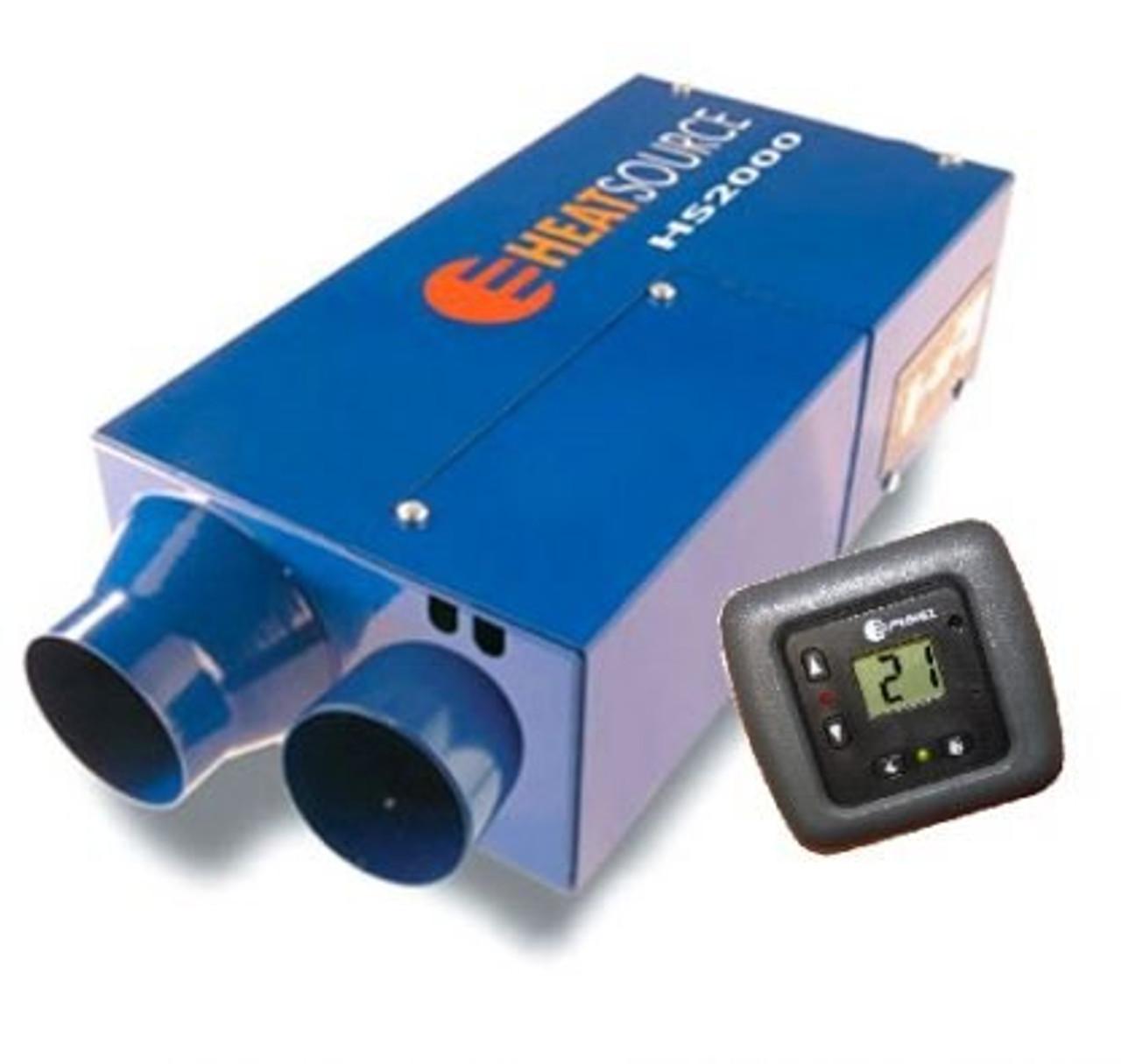 Propex HS2000 Campevan LPG Blown Air Heater 2000V1-D