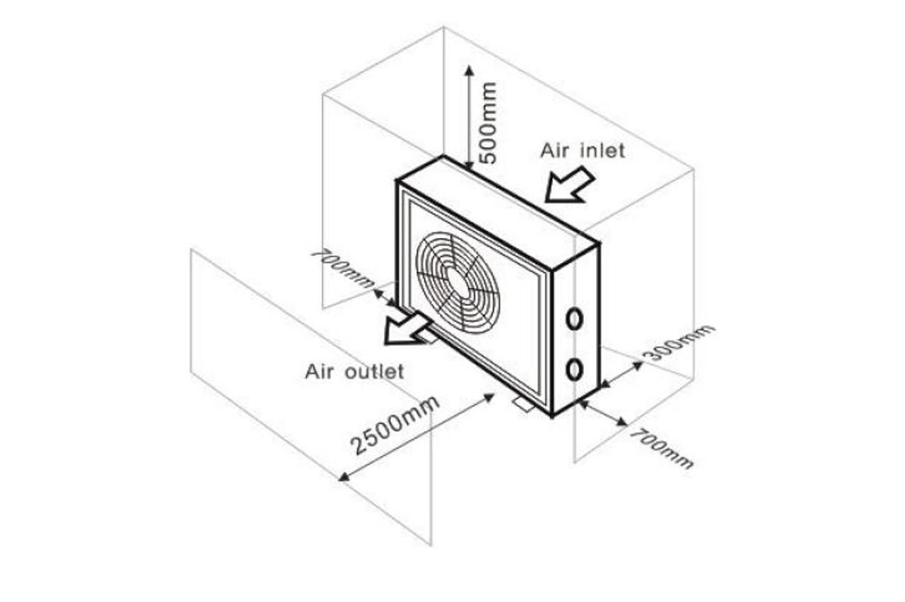 Hydro-Pro Inverter Swimming Pool Heat Pump