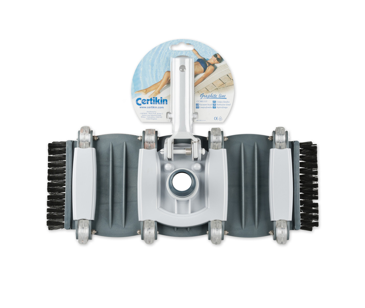 Certikin vac head for concrete and tiled pools