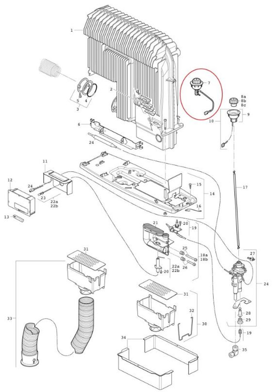 Truma 30090-00043 for Truma Caravan or Motorhome S Heaters