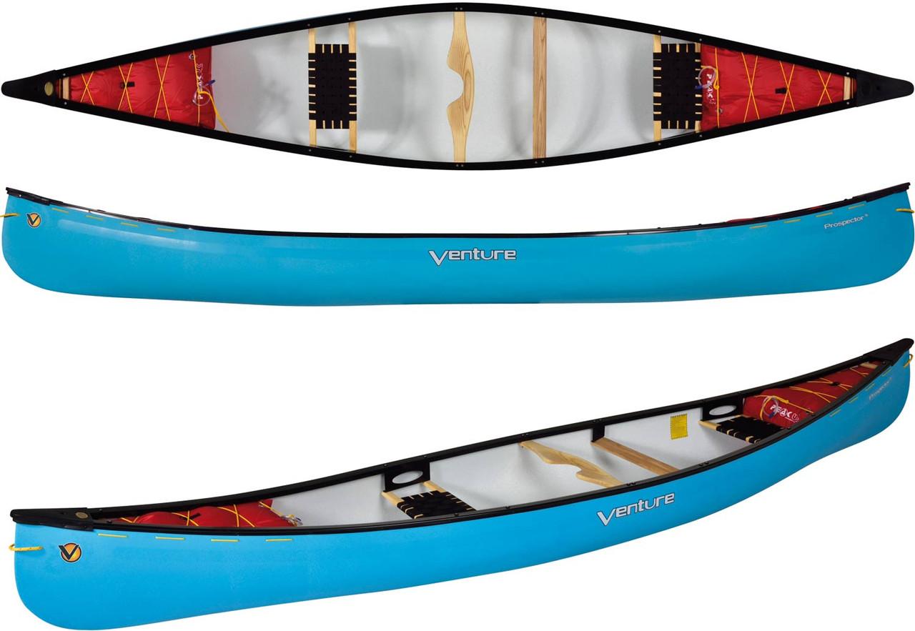 Venture Prospector 155 Canadian Canoe Whitewater Explorer Spec
