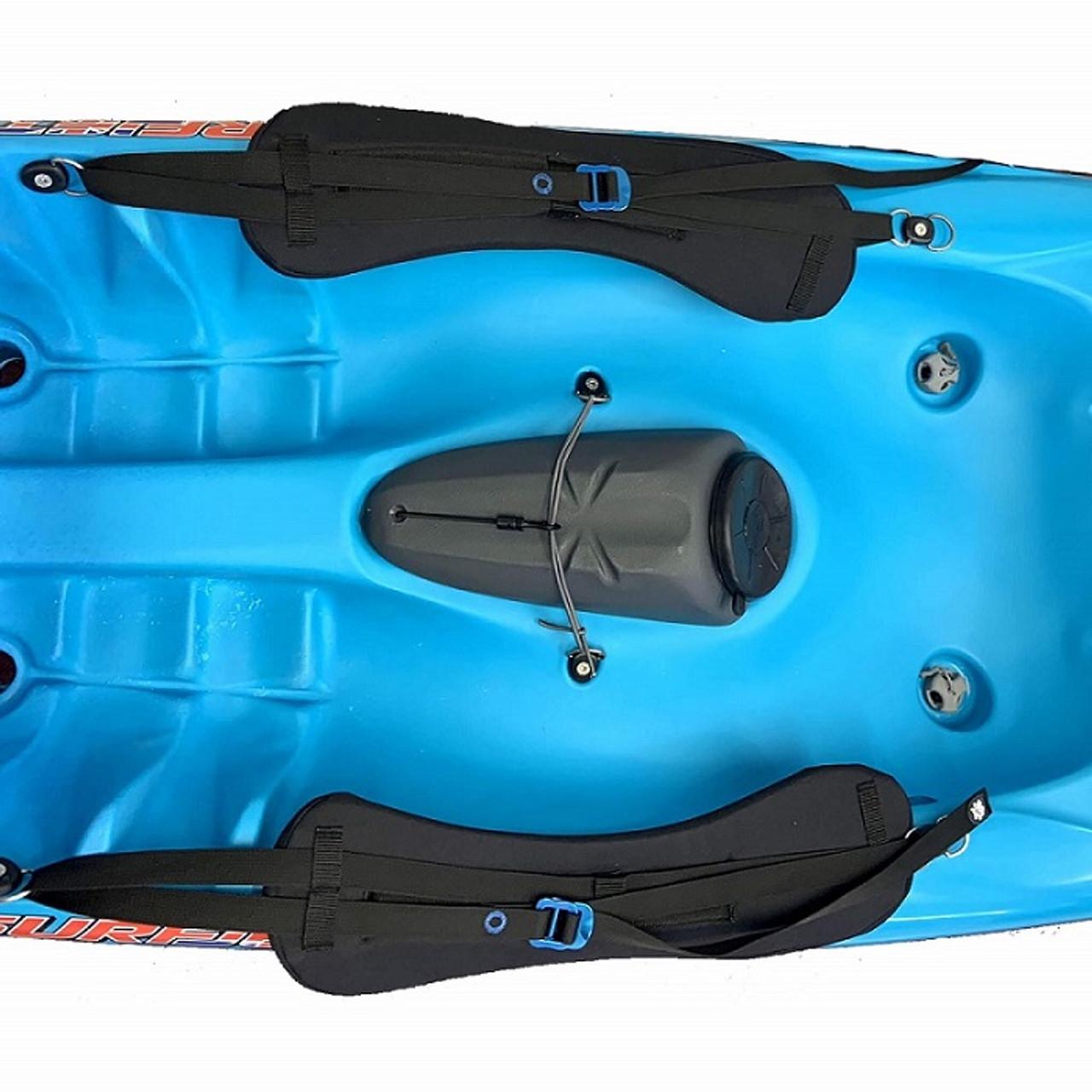 Pyranha Surf Jet 2.0 thigh control straps