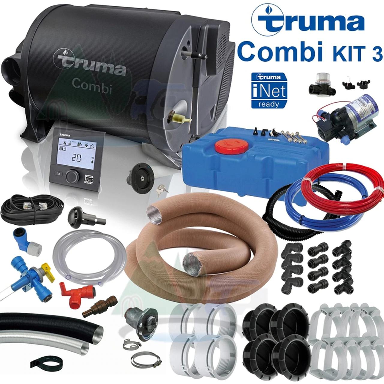 Truma Combi 2E, 4E, 6E Complete Heater Kit 3
