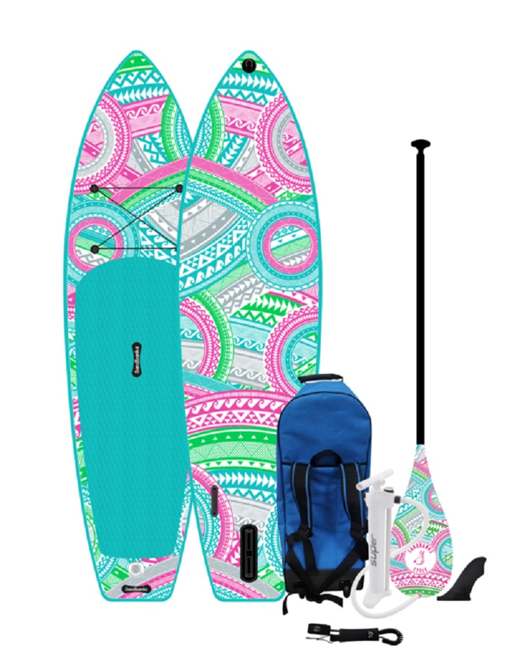 Sandbanks Ultimate Art Malibu Paddle Board