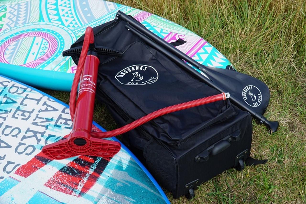 Sandbanks inflatable paddle board package