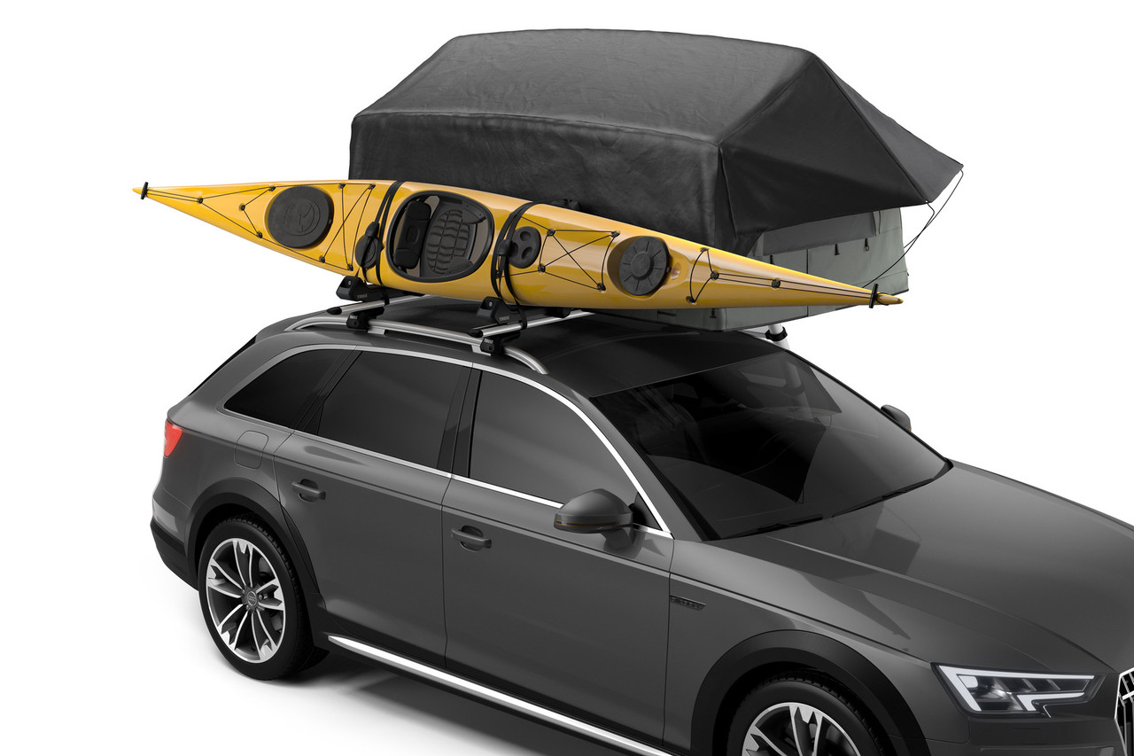 Thule tepui foothill tent with kayak