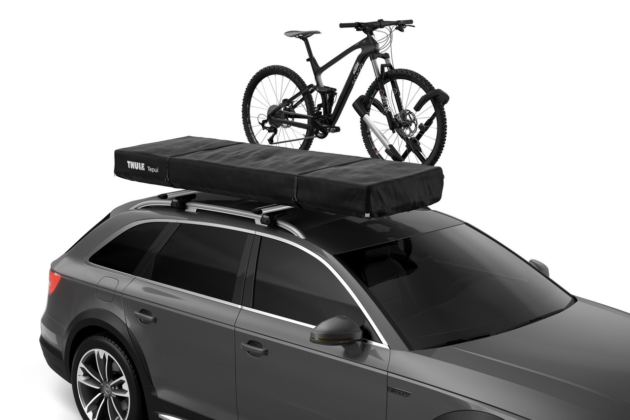 Thule Tepui Foothill tent with bike