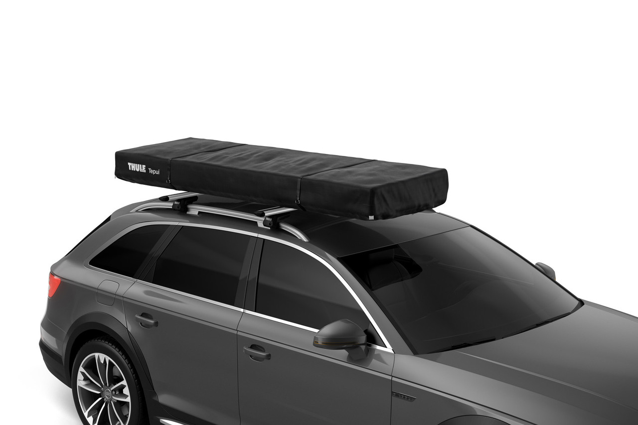 Thule Tepui Foothill tent folded away roof box