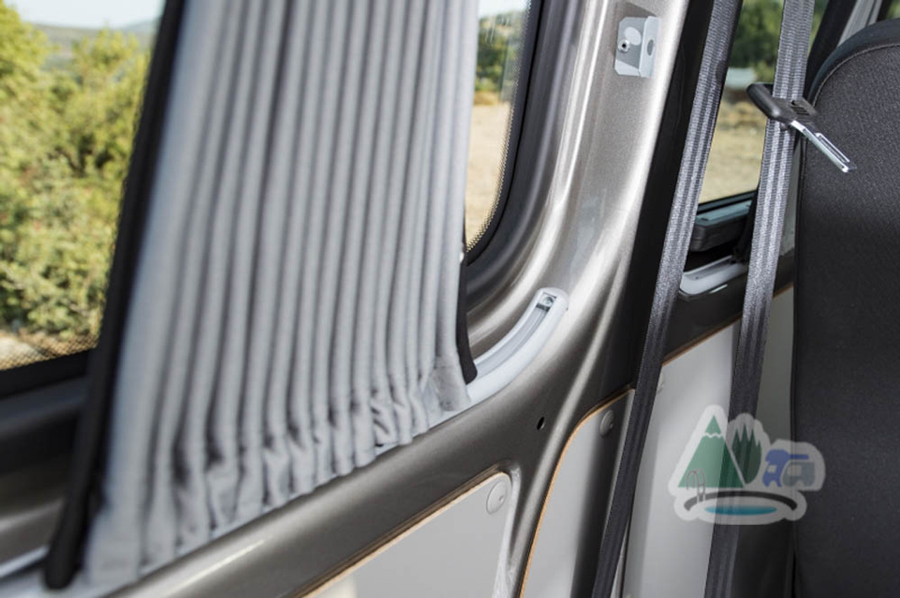Curtains in VW transporter