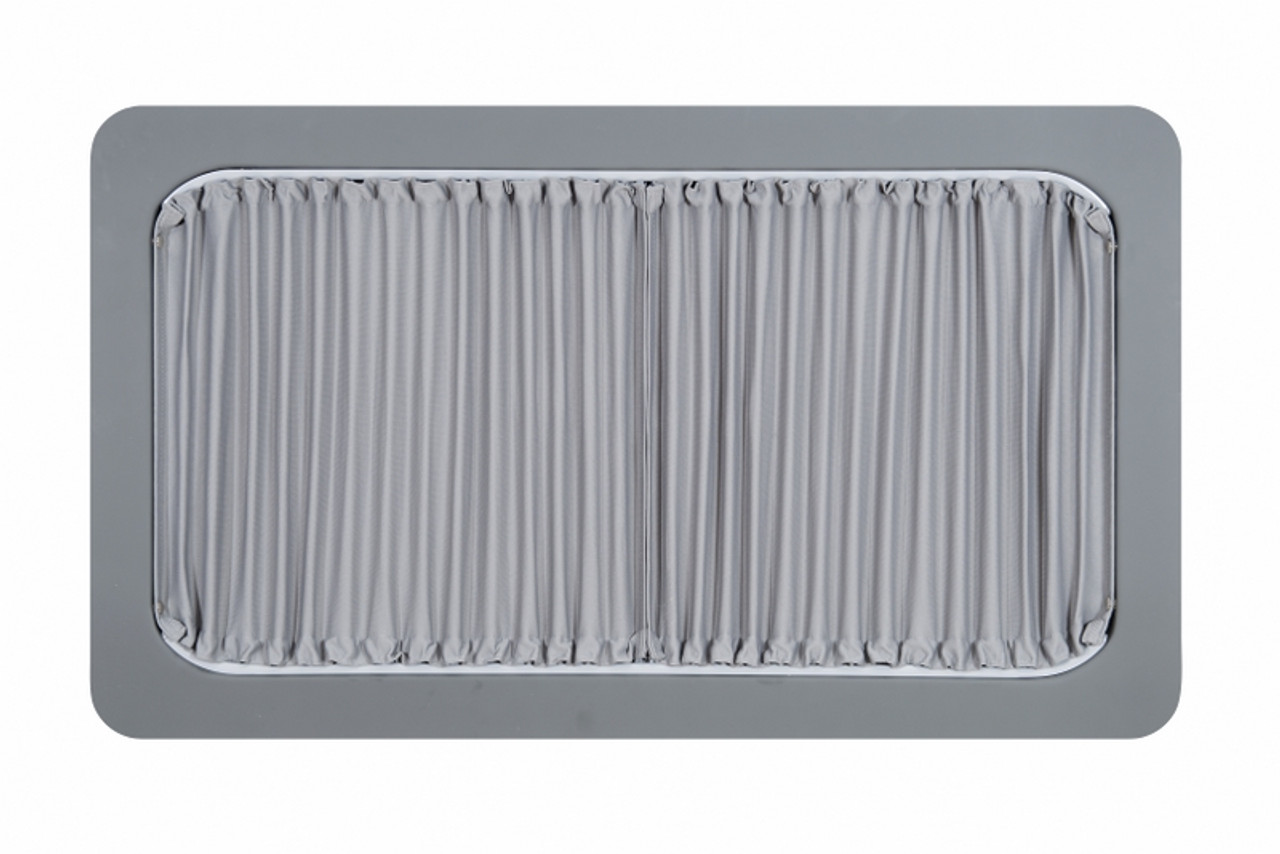 Grey curtains kit for renault trafic or vauxhall vivaro vans