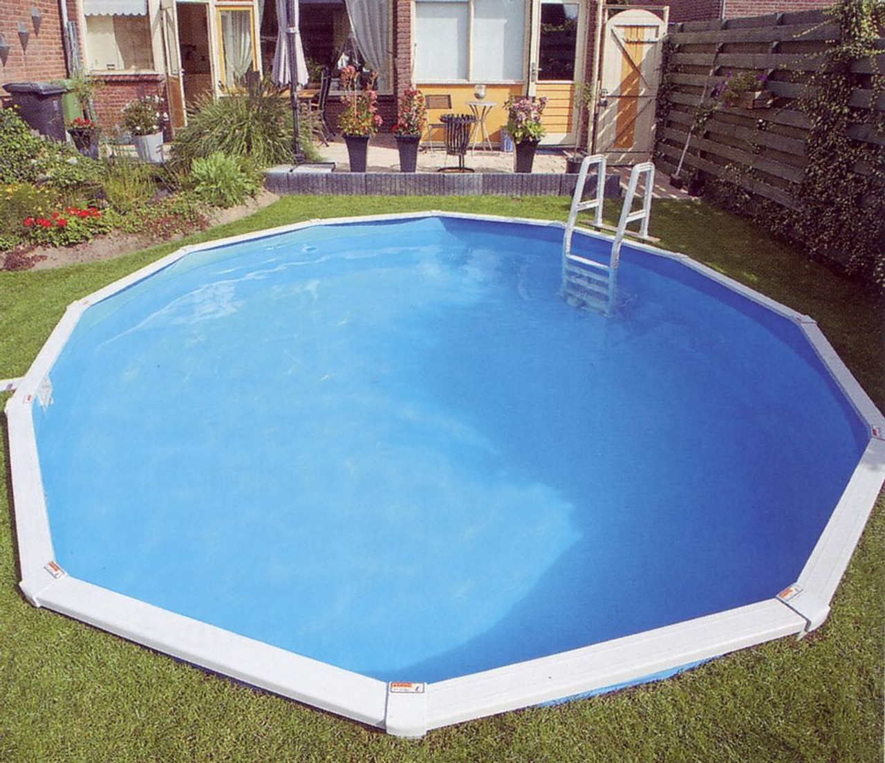 Image of: Doughboy Premier Above Ground Pool