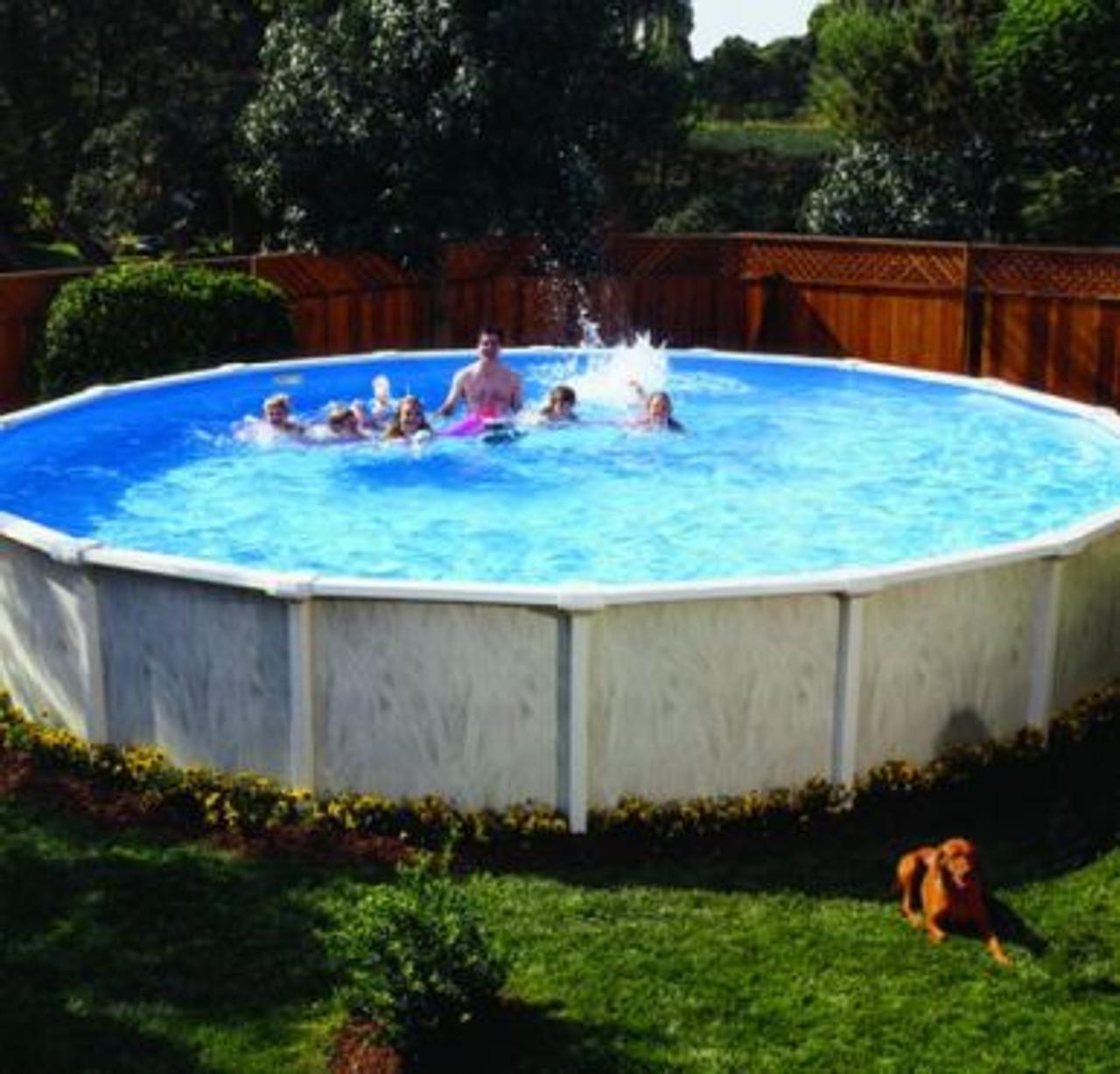 Image of: Doughboy Above Ground Regent Swimming Pool Uk