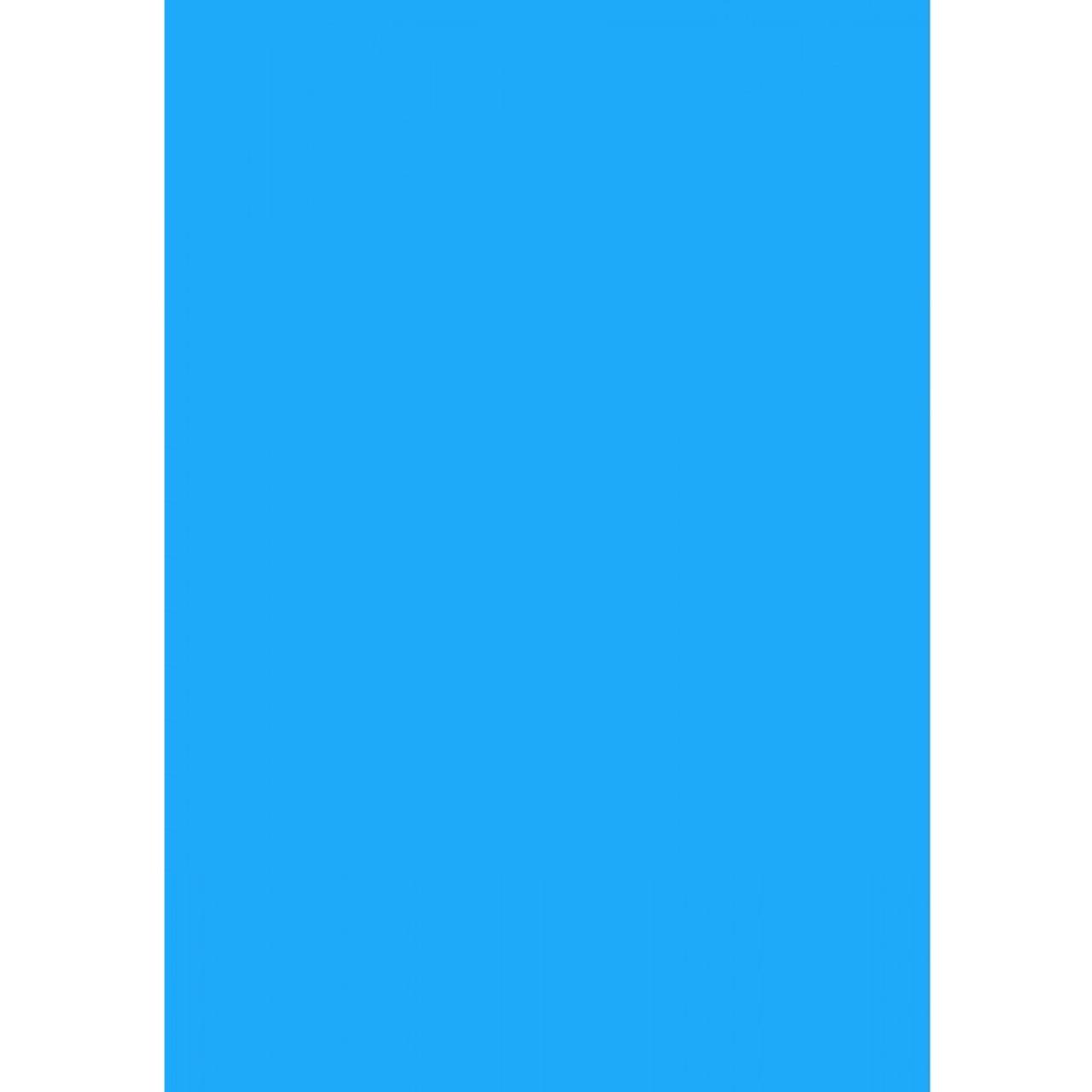 Plain Blue above ground pool liner