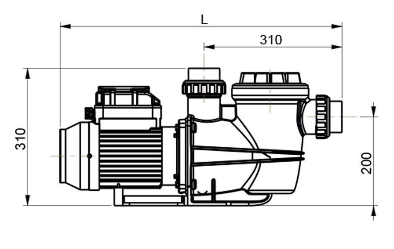 Certikin AquaSpeed Swimming Pool Pump
