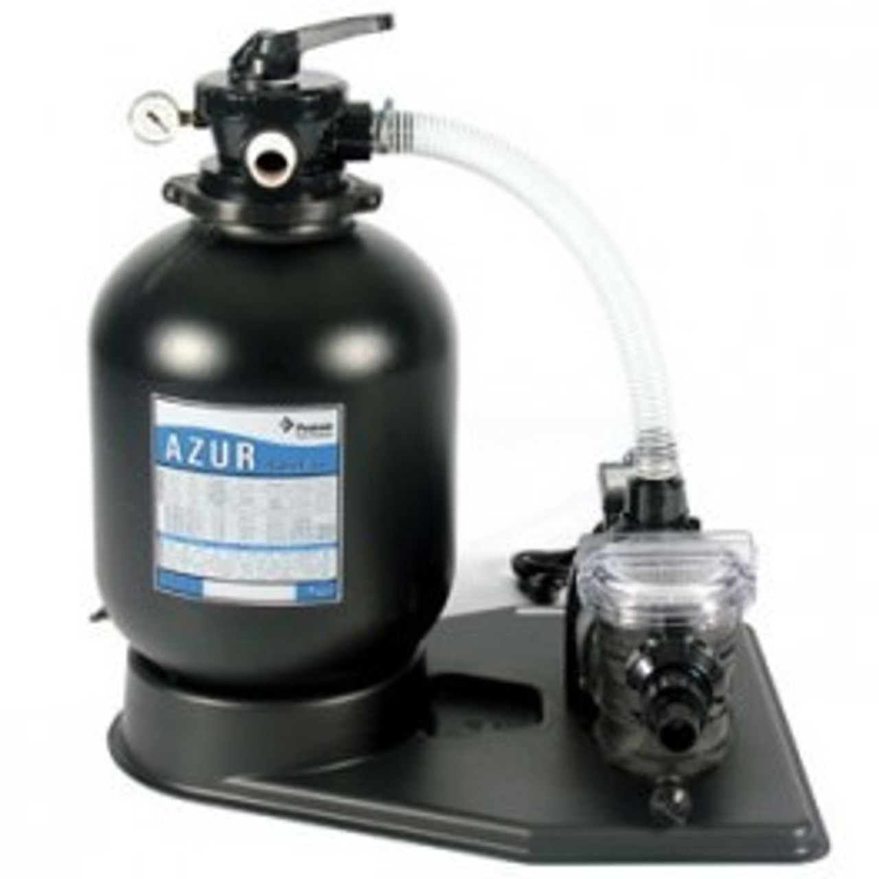 Azur Swimmey Above Ground Swimming Pool Filter and Pump