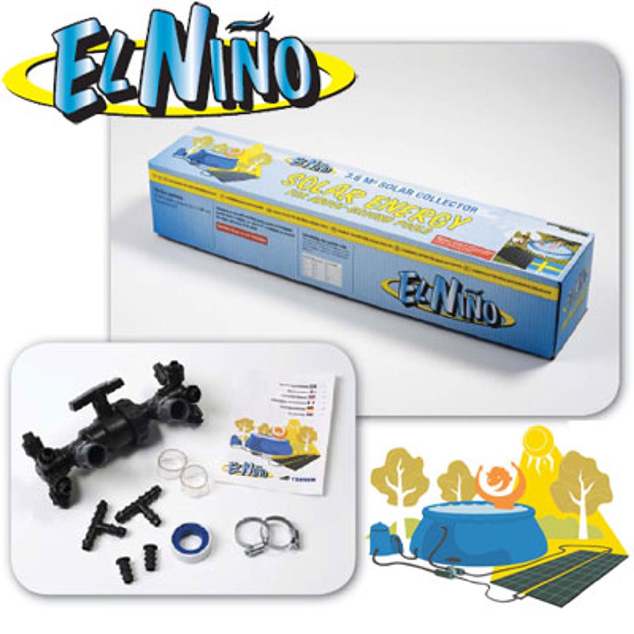 El Nino Solar Pool Heating Kit