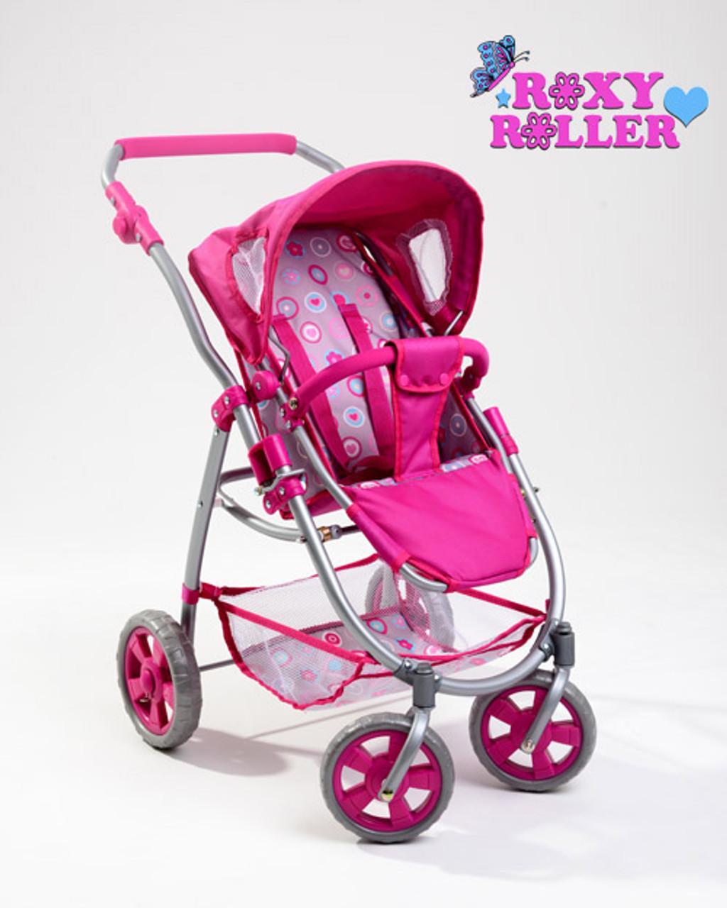 Kids 3 in 1 Roxy Roller Car Seat Pram Pushchair Doll Stroller
