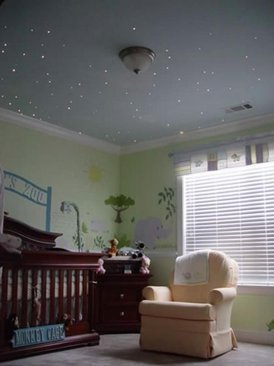 Medium Fibre Optic LED Light Star Effect Ceiling Kit