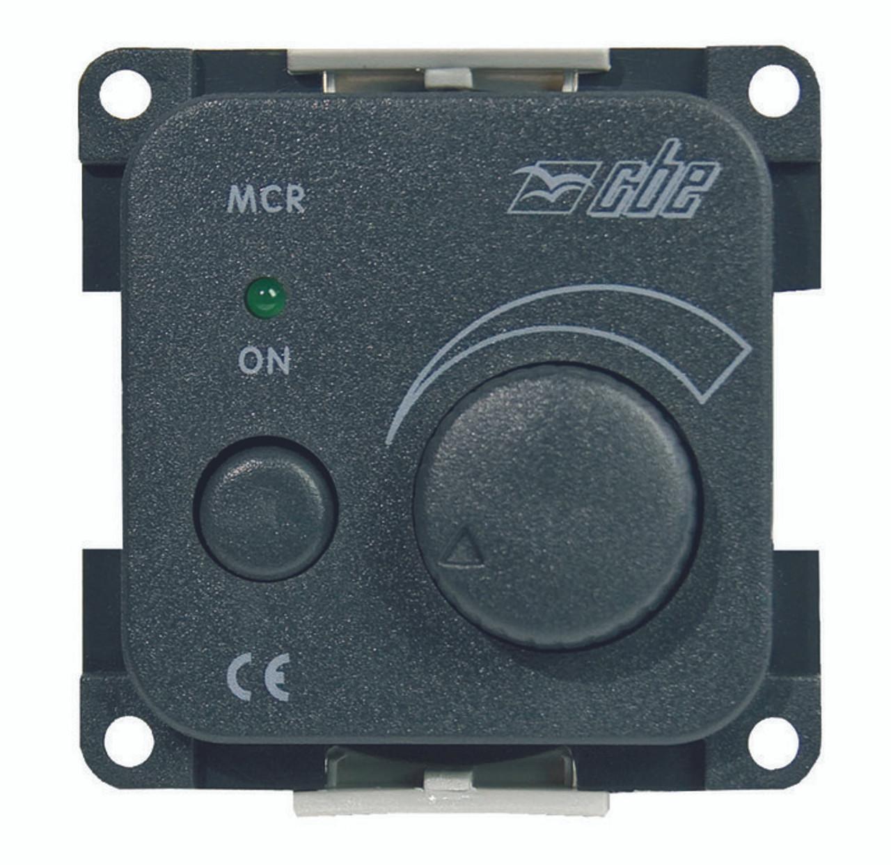 CBE Dimmer Switch /& Frame Combo Campervan//Motorhome Black Frame