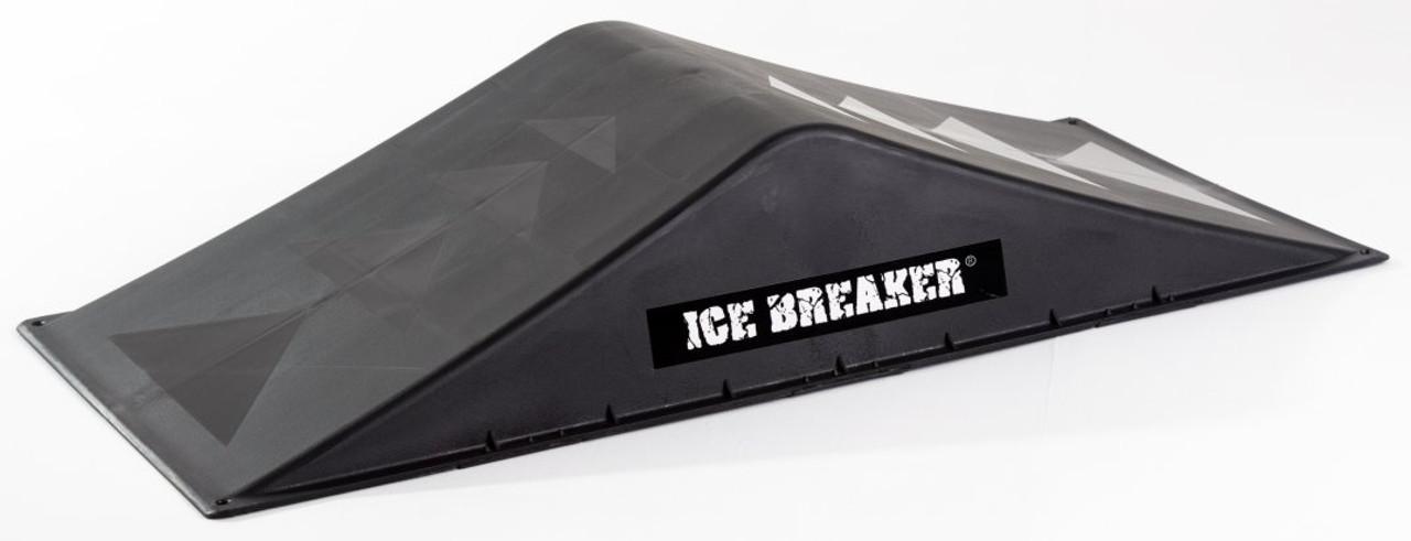 Icebreaker double mini skateboard ramp