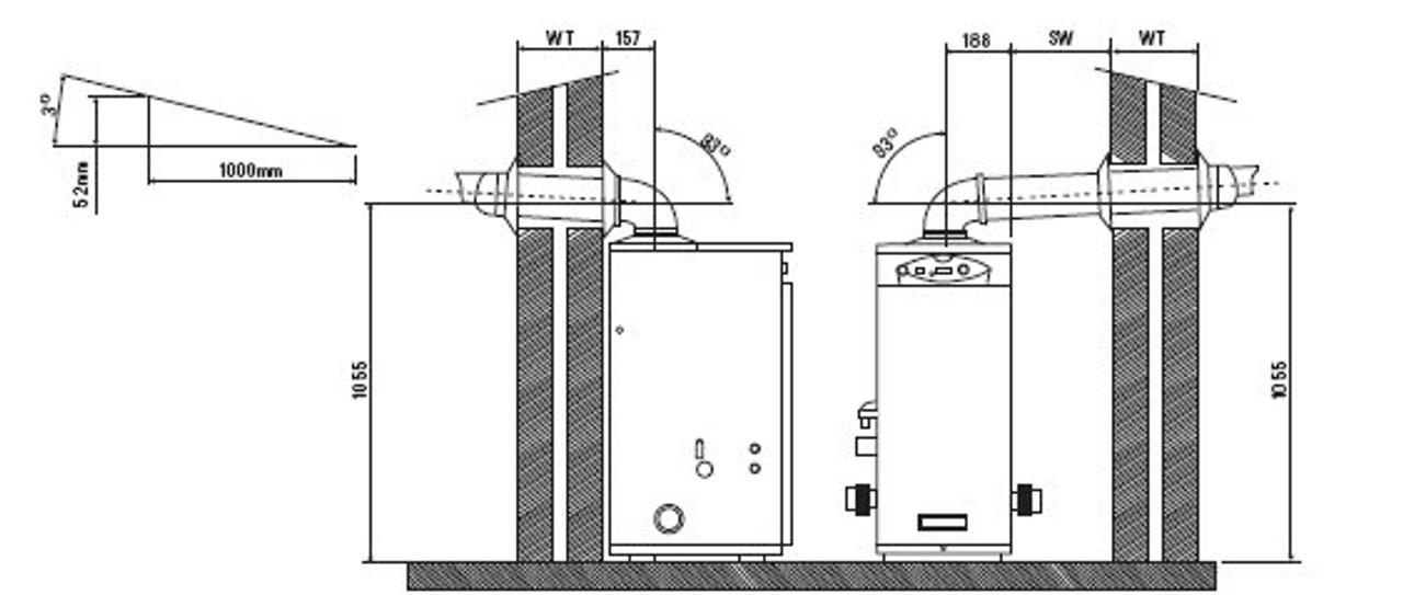 Certikin Genie condensing boiler installation