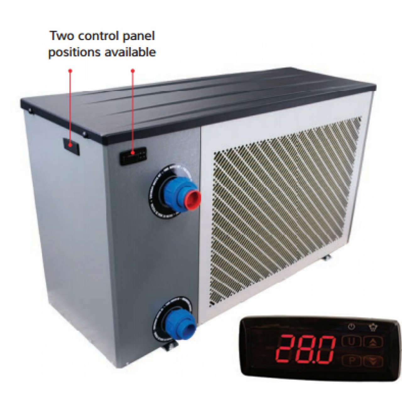Calorex pro pac domestic swimming pool heat pump