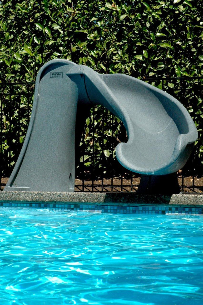 SR Smith Cyclone Swimming Pool Slide (showing right hand version)