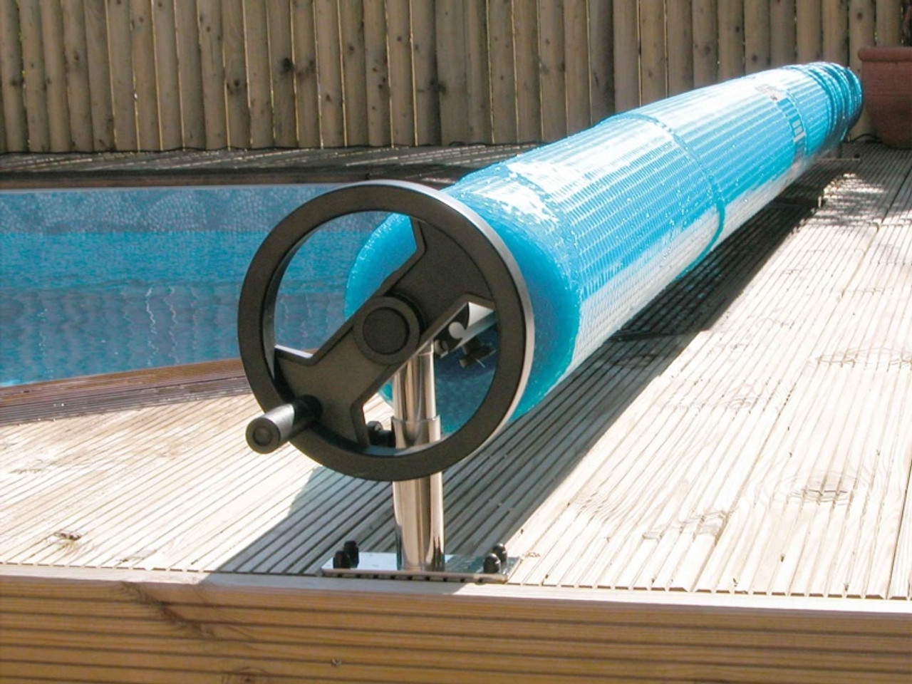 Above Ground Swimming Pool Solar Cover Reel System