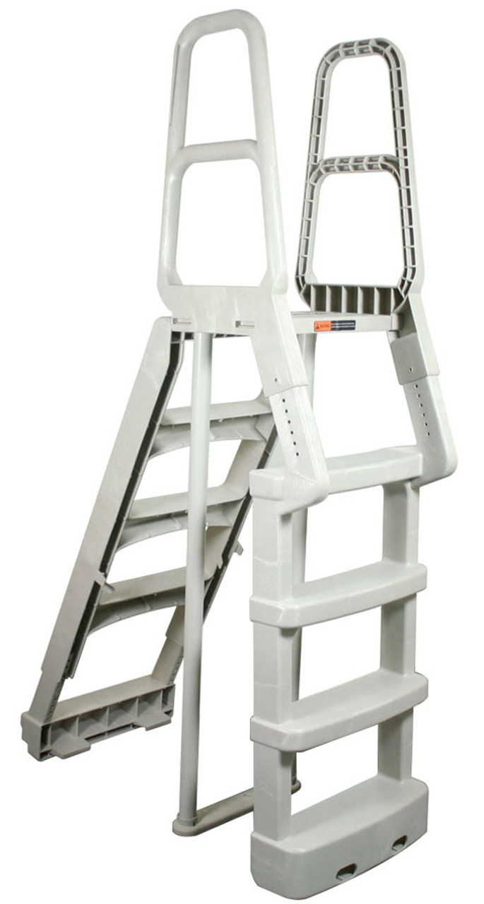 Comfort Incline Step A-Frame Above Ground Swimming Pool Ladder