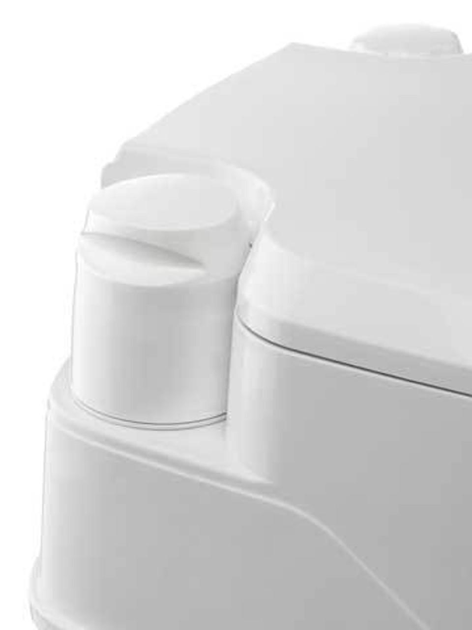 Thetford Porta Potti Qube 365 manual piston pump flush