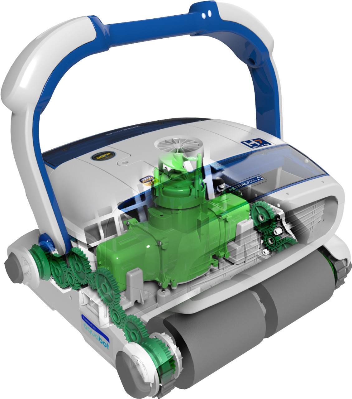 Astral H7 automatic swimming pool cleaner