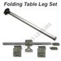 Campervan Folding table leg set