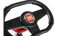 Buzzy Fiat 500 Go Kart Steering Wheel Detail
