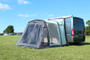 Movelite 2 Campervan zips up easily for privacy