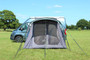 Movelite 2 Campervan inflates quickly and easily and can be pegged down for increased stability