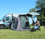 Movelite 2 Campervan canopy provides shelter from the sun