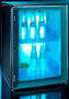 Dometic HiPro 4000 Vision Glass Door  Mini Bar Fridge