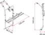 Fiamma Bike Carrier VW T5 D Camper Van Single Door details