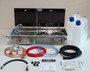 Dometic Smev 9722 starter conversion kit with left hand sink, Bulkhead regulator & mixer tap                                                             9722KIT1-L-B-H