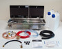 Dometic Smev 9722 conversion kit with right hand sink, Bulkhead regulator,  hot & cold mixer tap                                                                      9722KIT1-R-B-H